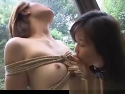 Asian Lesbians In Bondage Scene
