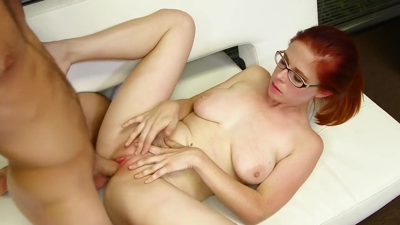 Natural Redhead Pussy Hardcore With Big Cock In Her Ass White bbw getting fucked gif
