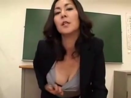 Provocative Oriental Teacher Drops Her Panties And Fingers