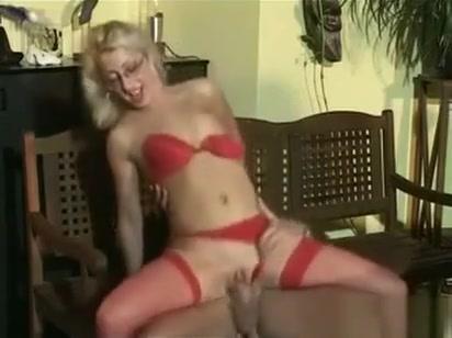 Nerdy Blonde Slut Enjoying Some Cock